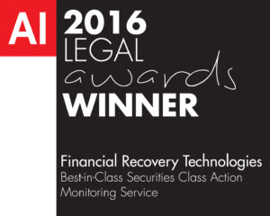 Financial Recovery Technology-Legal Awards 2016 (FD160025) winne
